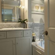 Bathroom by Heather ODonovan Interior Design