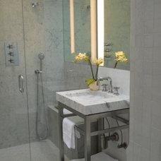 Contemporary Bathroom by GS Custom Design