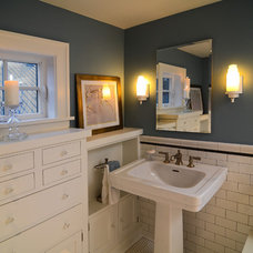 Traditional Bathroom by Mountainwood Homes