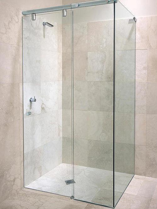 heavy glass frameless bath shower enclosures