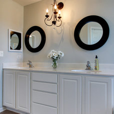 Transitional Bathroom by Focus-Pocus