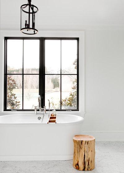Scandinavian Bathroom by Tamara Magel Studio
