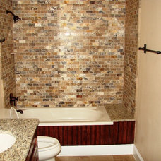 Craftsman Bathroom by Jeffrey Harrington Homes