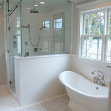 Traditional Bathroom by Brickmoon Design