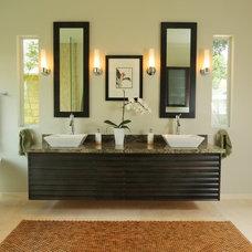Contemporary Bathroom by happy | medium