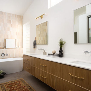 75 Beautiful Scandinavian Bathroom With A Floating Vanity Pictures Ideas March 2021 Houzz