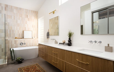 Before and After: 4 Bathrooms With Dashing Double Vanities