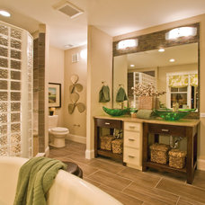 Contemporary Bathroom by Progress Lighting
