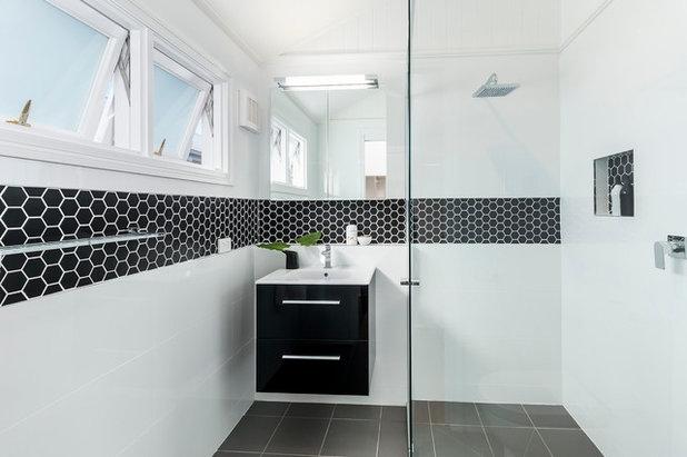 コンテンポラリー 浴室 by Designtank