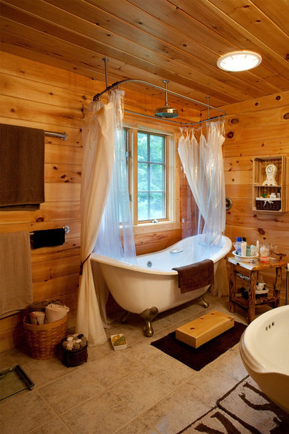 Traditional Bathroom by Musser Home Builders, Inc.