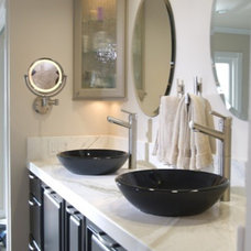 Contemporary Bathroom by Henry Plumbing