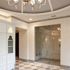 Mediterranean Bathroom by Allied Stone