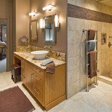 Modern Bathroom by Carriage House Design, Inc.