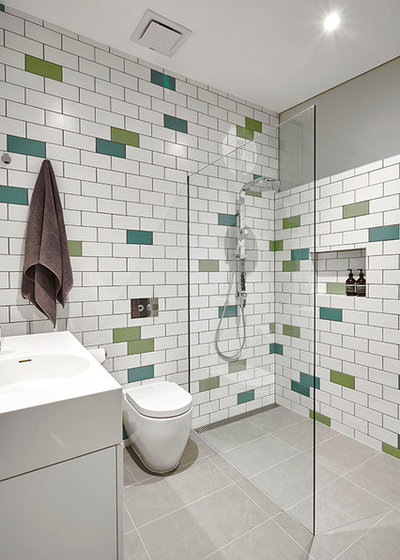 Modern Bathroom by Architect Hewson
