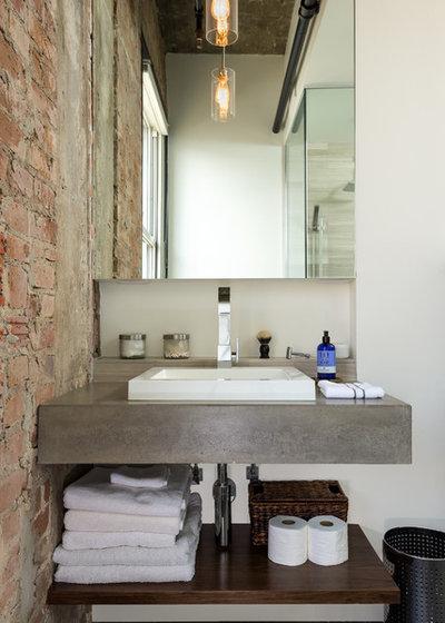 Badrum: 10 sätt att stilblanda med betong : badrum betong : Badrum