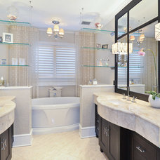 Traditional Bathroom by Besch Design, Ltd.