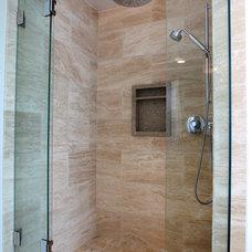 Traditional Bathroom by Custom Design & Construction