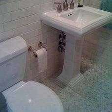 Traditional Bathroom by Ortam Construction Inc.