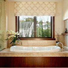 Eclectic Bathroom by Geoff Captain Studios