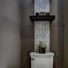 Contemporary Bathroom by SK Interiors