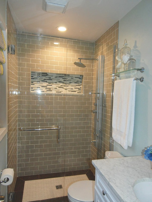 Small bathroom with tile on the walls 2017 2018 best for Small master bathroom remodel ideas
