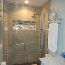 Traditional Bathroom by Michelle Pieper Hertel, ASID, LEED GA