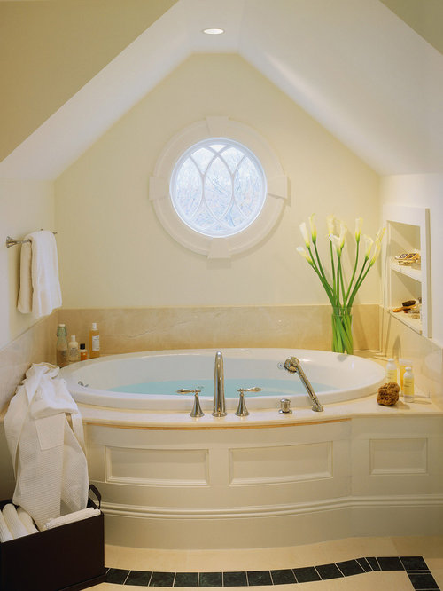 alcove bath with window home design ideas pictures