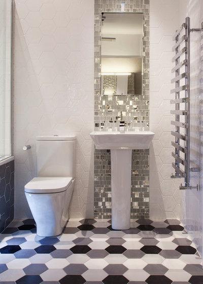 Современный Ванная комната by TileStyle