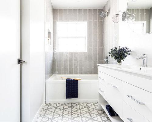 15 best kids 39 bathroom ideas decoration pictures houzz for Bathroom remodel 80123