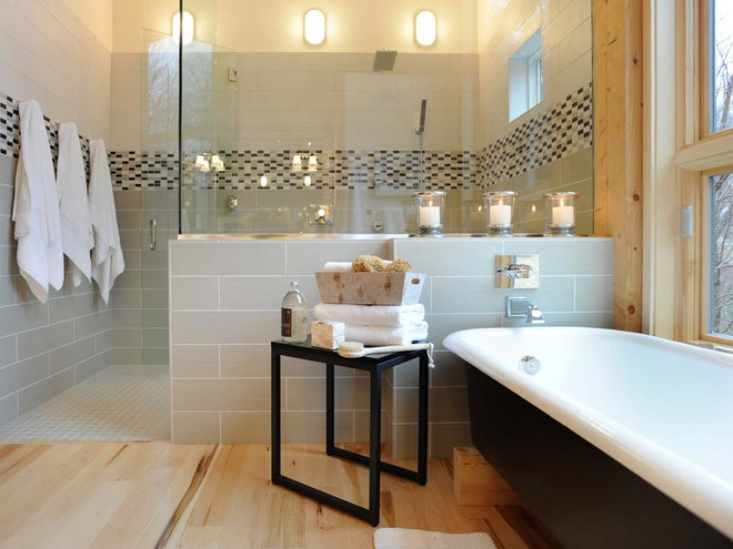 Traditional Bathroom by Gristmill Builders, LTD