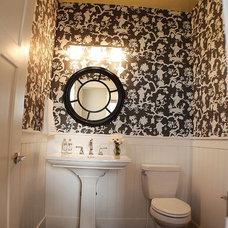 Traditional Bathroom by Judith Balis Interiors