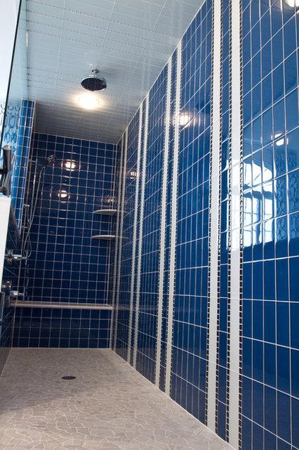 traditional bathroom by alisha gwen interior design