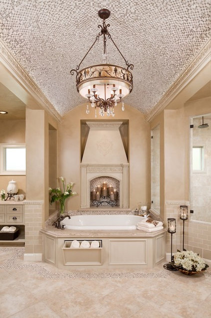 Traditional Bathroom by Morning Star Builders LTD