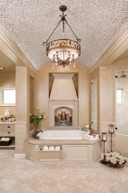 Traditional Bathroom by Morning Star Builders LTD