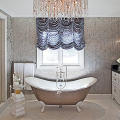 eclectic bathroom by Sue Firestone