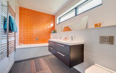 8 combinaisons de couleurs pour booster votre salle de bains
