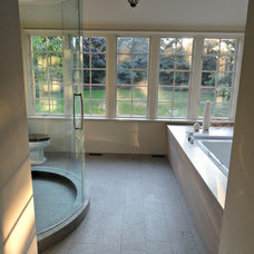 Traditional Bathroom by Mark Hickman Homes