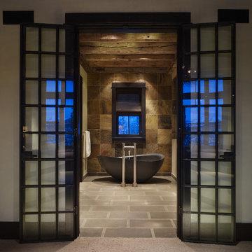 High Alpine Ranch Bathroom