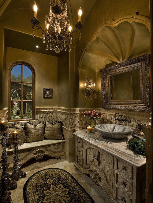 Old World Vanity Home Design Ideas, Pictures, Remodel and ...