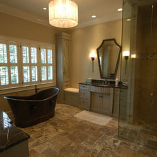 Traditional Bathroom by Griffith Construction & Design, Inc.