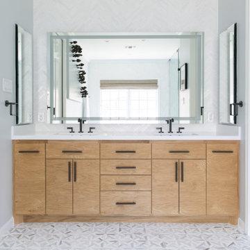 High-End Renovation: Bathroom 1