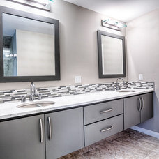 Modern Bathroom by Toulmin Cabinetry and Design