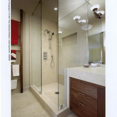 contemporary bathroom by Jeffrey R Rexford