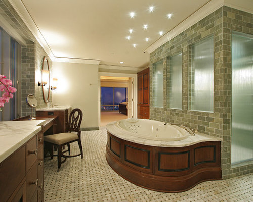 Shower Behind Tub Home Design Ideas Pictures Remodel And