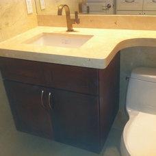 Mediterranean Bathroom by Vintage Custom Remodeling & Construction Inc.