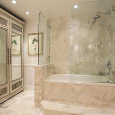Traditional Bathroom by Dovetail Builders Inc.