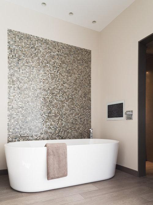 bathroom feature wall  houzz