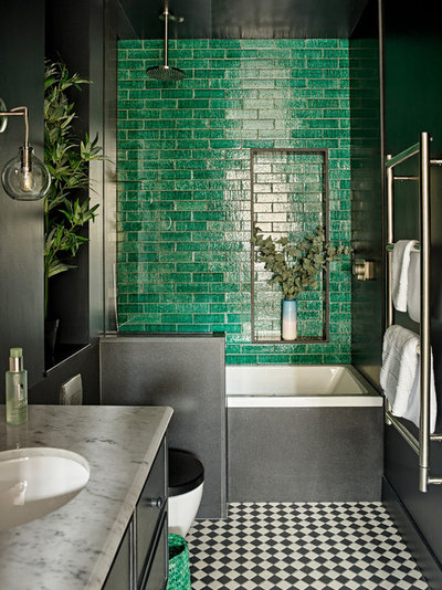Contemporary Bathroom by Romilly Turner Interior Design