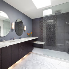 Contemporary Bathroom by TQ Construction Ltd