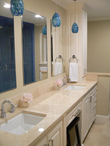 Contemporary Bathroom It's Great To Be Home - Spa-Like Master Bath